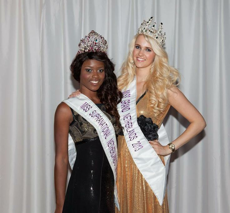 Miss Supranational and Grand The Netherlands 2013   Crowns : BaroQco  Leila Aigbedion and Talisa Wolters