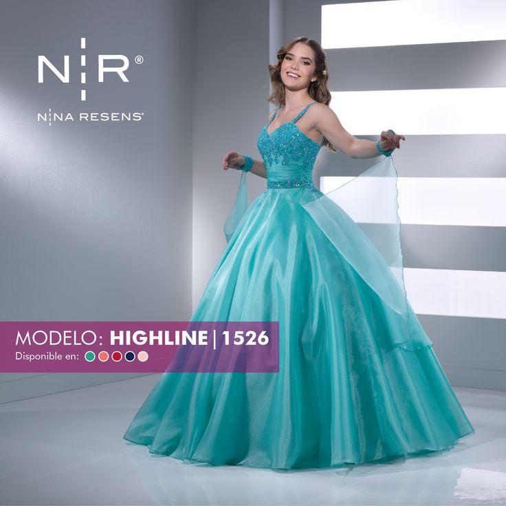 Princesas les presentamos el modelo Highline. Es un vestido  de una pieza con tirantes adornados. ¡Espectacular! Disponible en color: Aqua, Coral, Rojo, Azul rey y  Rosa pastel #XvAños  #Colección2017 #Party #Chic  #Dress #Highline  by #Ninaresens.