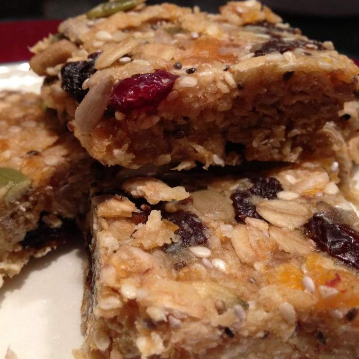 """Recipe Gluten and sugar free """"Birdseed"""" Muesli Bars by Suzanne Mosca - Recipe of category Desserts & sweets"""