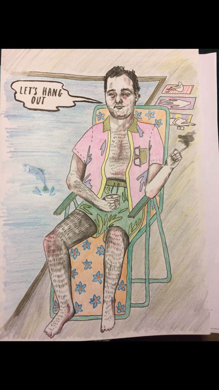 my coloring talents displayed in my bill murray coloring book - Bill Murray Coloring Book