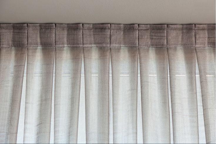 M s de 25 ideas fant sticas sobre cortinas de lino en for Cortinas cortas salon