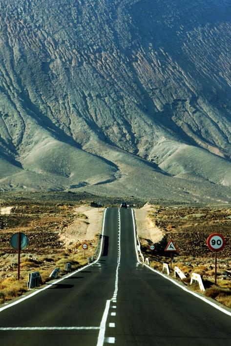 Road to the peak