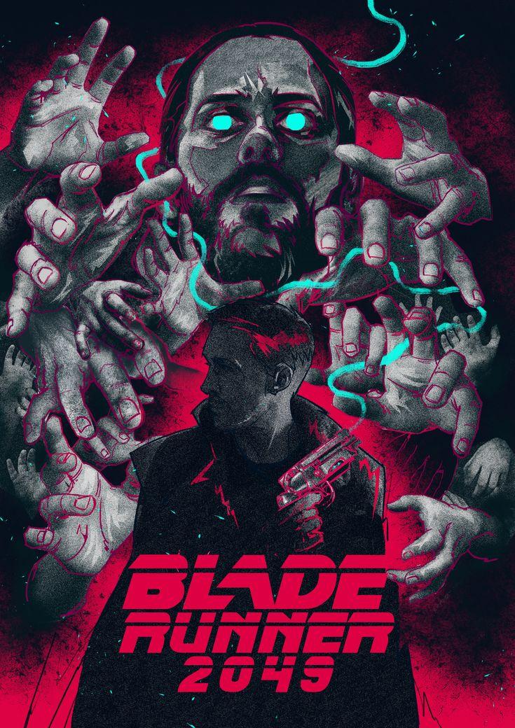BLADE RUNNER 2049 alternative poster on Behance