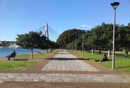 The Beautiful Glebe Foreshore Parks Form A Ribbon Of Parkland Around Peninsula Which Includes Bicentennial Park Federal Jubilee Pa