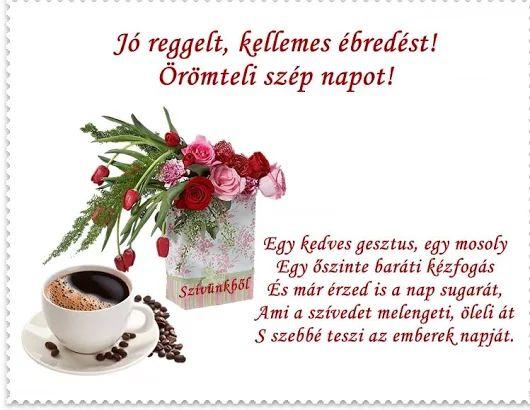 Szép napot barátaim!