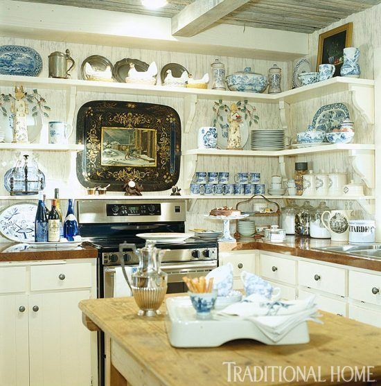 Kitchen Wall Display Ideas Places In The Home In 2020 Country