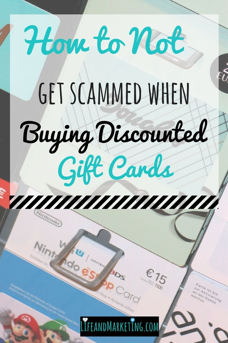 Here's a personal finance tip: buy discounted gift cards! When you buy discounted gift cards, you save money. Saving money is great, but you don't want to get scammed. Here are some safety tips for buying discounted gift cards.