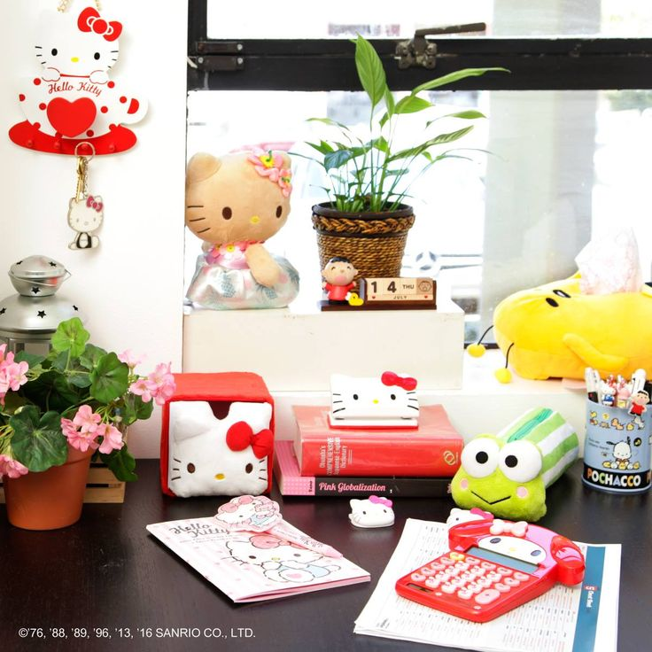Hello Kitty Stapler See More Cute And Tidy Brighten Your Office With These Adorable Accessories