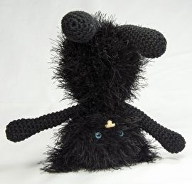 Haakpatroon kitten Siep #gehaakt #haakpatroon #hakenisleuk #crochet #crochetpattern #häkeln #haken