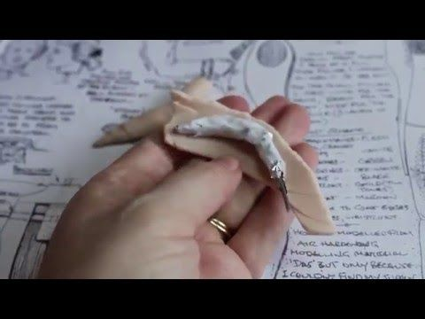 Part 1 of 16 Free Videos on How To Sculpt a Character Figure! #sculpt #polymerclay