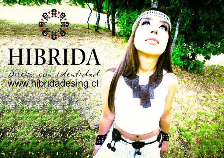 Hibrida design Modelo Sofia Manríquez  Fotografía: Gloria Manríquez