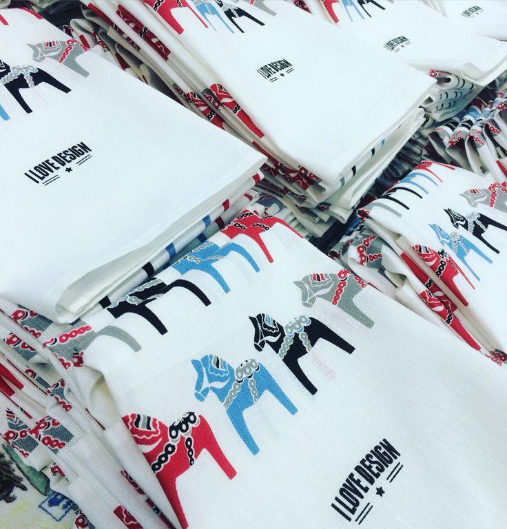 Dala towels from i Love design