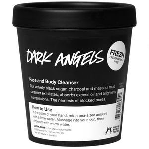 Having never walked into a Lush store in my life, imagine my surprise when I found one of my favorite new products. This cleanser/scrub is a magnificent natural exfoliant. It's great for acne, seborrheic dermatitis and other skin conditions that are eased by exfoliation and skin renewal. If you are in doubt, ask me for a sample.