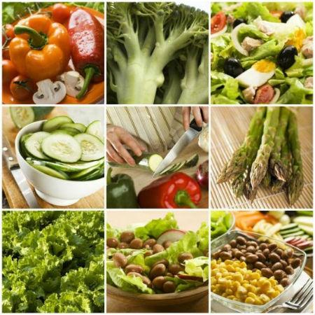 """Diez Alimentos Claves de """"La Dieta Sonoma"""" 1. Almendras 2. Pimientos de todos los colores 3. Moras 4. Brócoli 5. Uvas 6. Aceite de oliva 7. Espinacas 8. Fresas 9. Tomates 10. Granos integrales"""