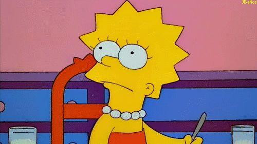 Huelga del profesorado - Los Simpson