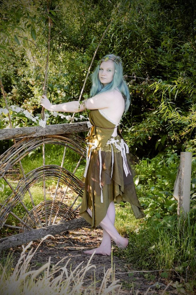 Pirate costume Woodland fairy dress Mori Girl by OshunCreations