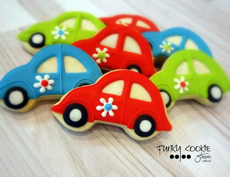 Vw bug cookies