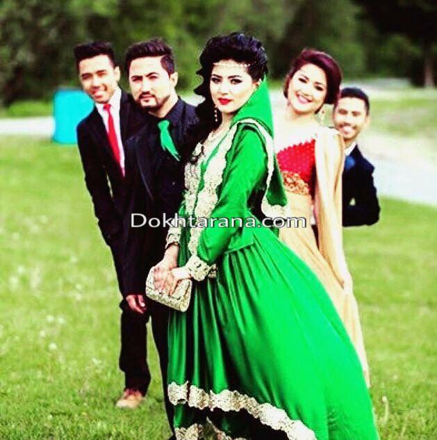 #afghan #dress #green #wedding #nekah #couple