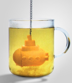 Yellow Submarine TeaThe Beatles, Teas Infused, Yellow Submarines, Teas Strainer, Teas Time, Submarines Teas, Teas Diffuser, Products, Tea Infuser