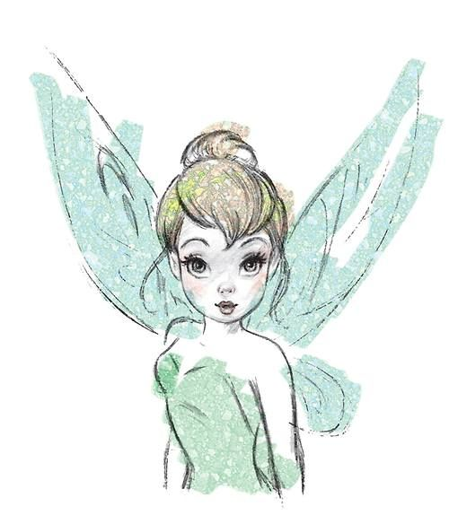 "Disney Fine Art: ""Tinkerbell"" by Dorota Kotarba-Mendez"
