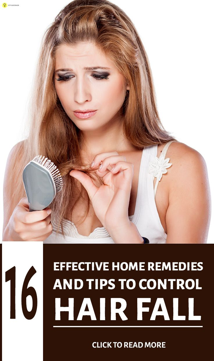 There are several home remedies and hair fall control tips. Here we list some of the most effective home remedies for hair fall that also prevents hair loss.