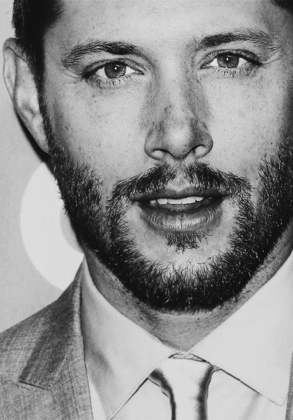 A beard on Jensen | beards need their own board | Pinterest