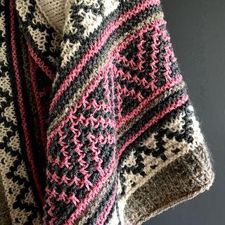Ravelry: Kristenlynnea's boho style mosaic shawl