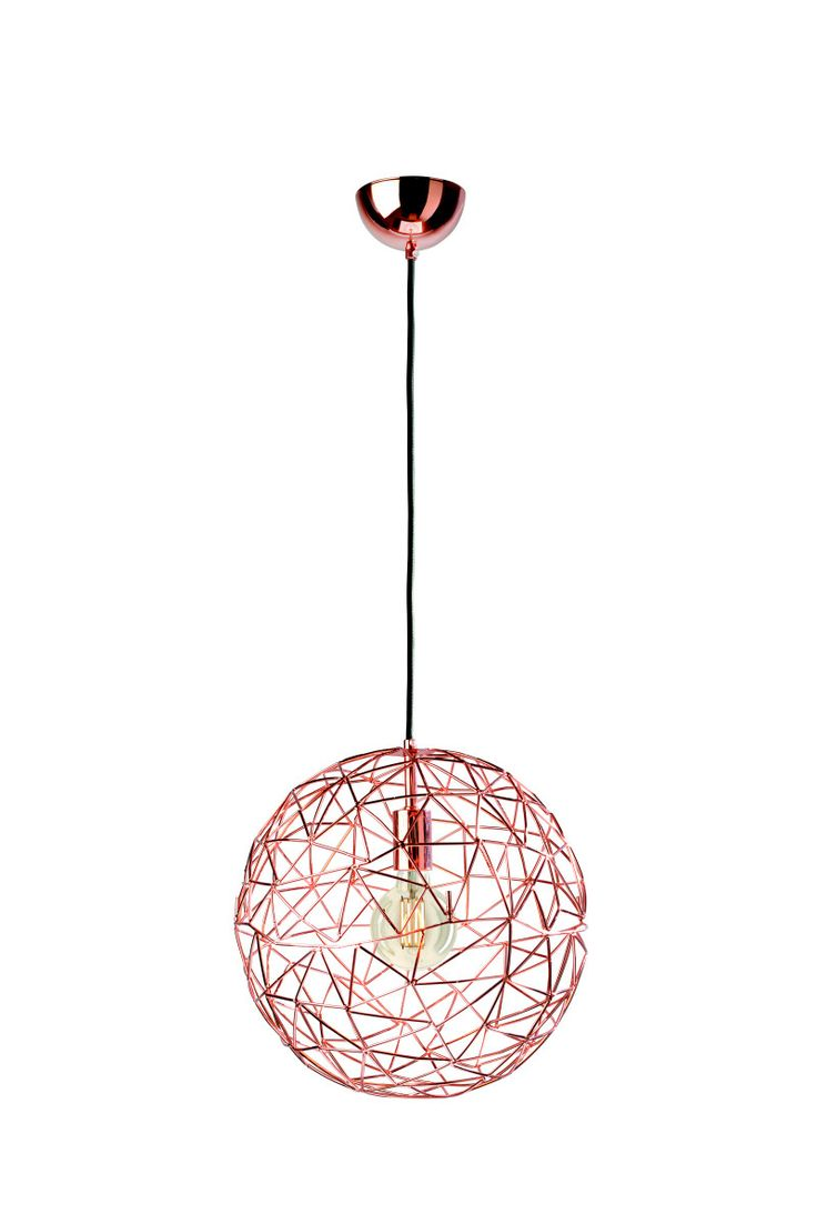 Sompex Cage Large Metal Copper – Funky Lamp Shades