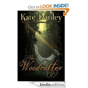 """The Woodcutter by Kate Danley  """"Cinderella is dead and oneof Odin's hellhounds has gone rogue. The Woodcutter, protector of peace between man and Fae, is charged with finding the beast and returning him to the Wild Hunt.  Unfortunately, the forces of evil have other plans."""""""