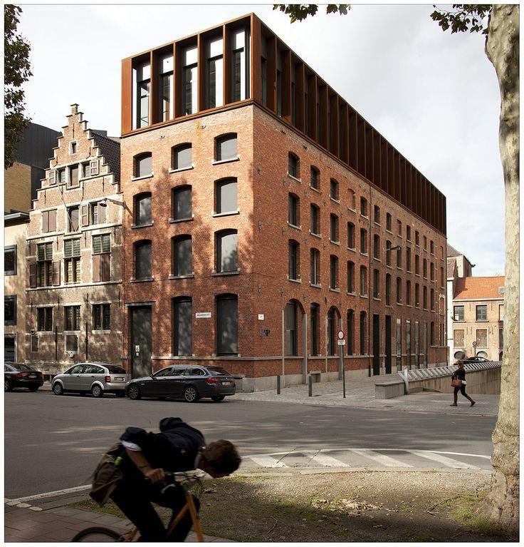 Rénovation, STRAMIEN architectuur , 2010. Anvers, Belgique… | Flickr