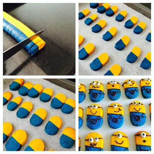 Minions Cookies - foodwerk.ch