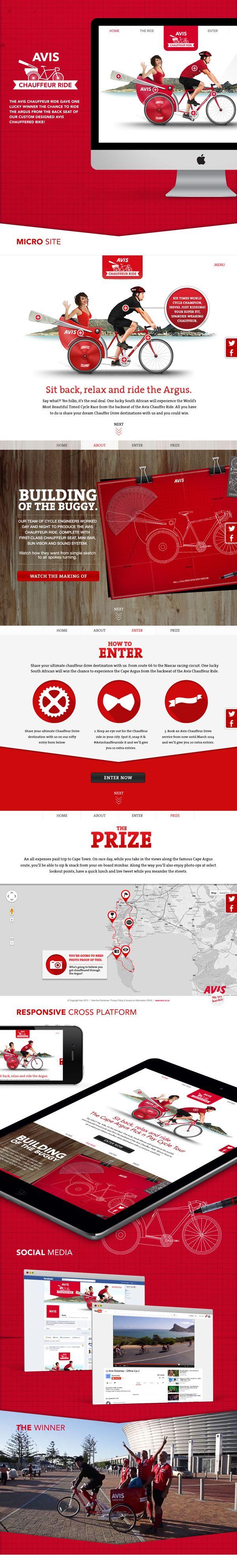 Avis, Micro Site, Comp,  Campaign