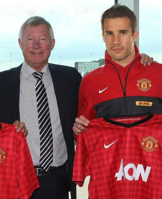 Robin Van Persie Welcome to Man Utd MAN UTD TRANSFER NEWS RVP JOINS MAN UTD