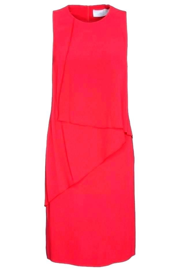 Roter Ubergrosser Strickpullover Pinkes Vertikal Gestreiftes Business Shirt Dunkelgraue Enge Jeans Dresses For Work Fashion Casual