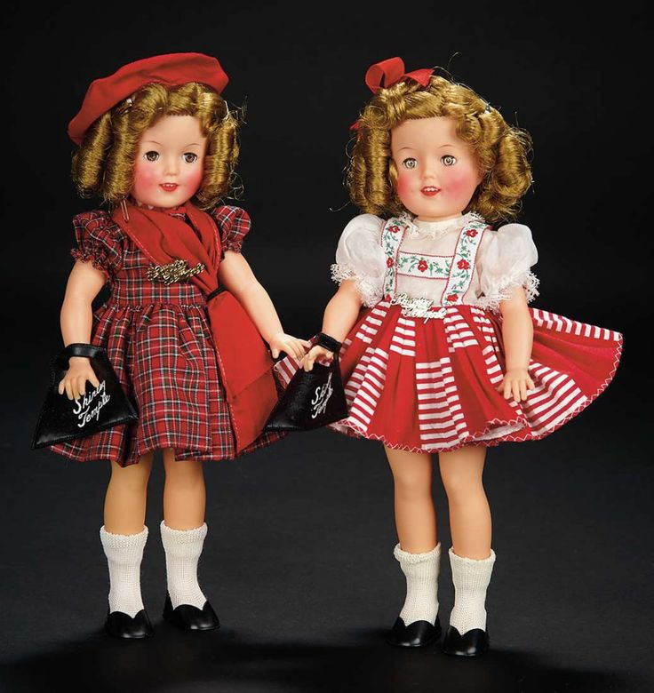 Plaid Dress Shirley Temple Doll by Ideal in Original Box $100+