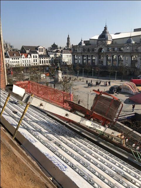 ISOTEC project op de Groenplaats in Antwerpen !