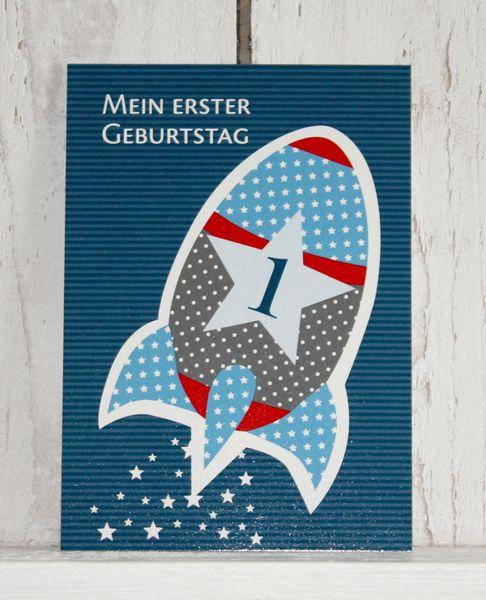 *Set bestehend aus 10 Postkarten.* Wenn kleine Kerle ihren ersten Geburtstag feiern, brauchen sie die passende Einladung! Die *Geburtstagsra...