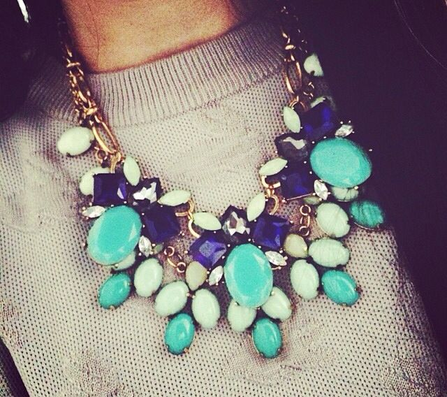 Bright and Bold statement necklace!