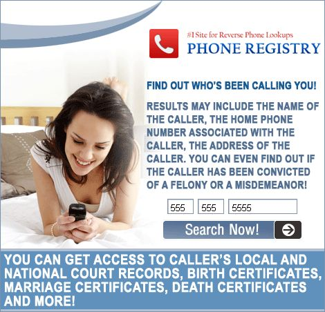 Easily find a cell number name and address of who is calling you? Trace name and Address of Who Is Calling Your Cell Phone?