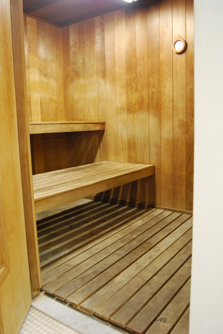 """Love these floating benches this is what Don put in our Sauna pretty much! """"Love"""""""