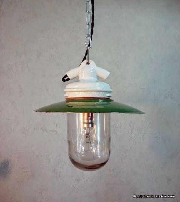 17 meilleures images propos de autrefois la lumi industrial lamp 39 s sur pinterest. Black Bedroom Furniture Sets. Home Design Ideas