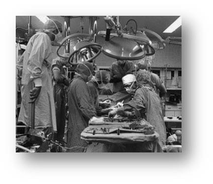 Dec 3, 1967:  First human heart transplant. 53-year-old Lewis Washkansky receives the first human heart transplant at Groote Schuur Hospital in Cape Town, South Africa.    Washkansky, a South African grocer dying from chronic heart disease, received the transplant from Denise Darvall, a 25-year-old woman who was fatally injured in a car accident. Surgeon Christiaan Barnard, who trained at the University of Cape Town and in the United States, performed the revolutionary medical operation.