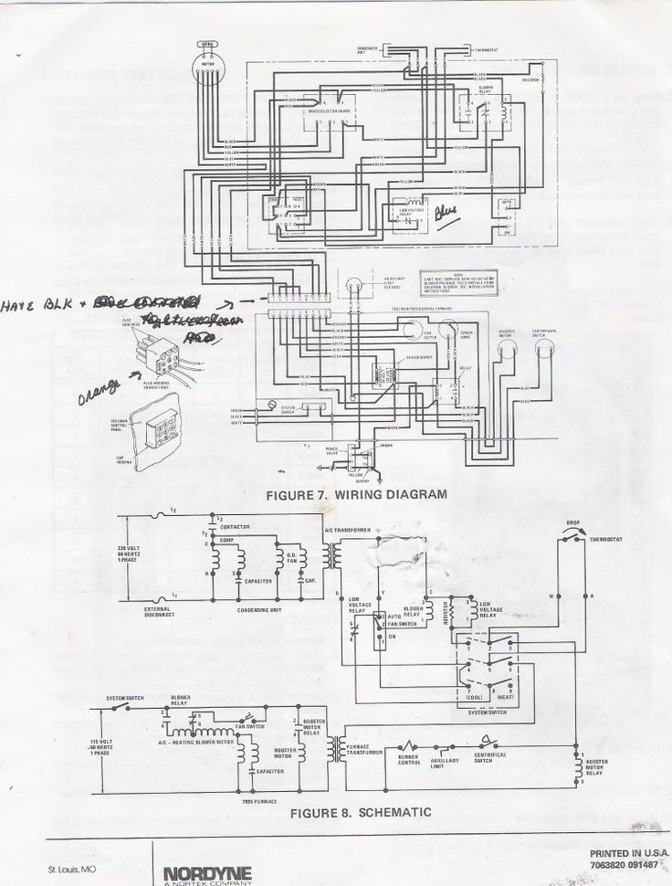 furnace electronic ignition wiring diagram