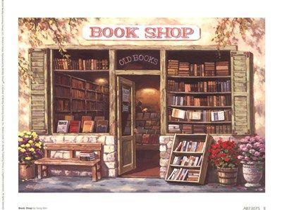 Book Shop by Sung Kim