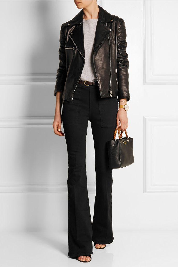 Frame Denim Le Flare de Francoise high-rise jeans NET-A-PORTER.COM
