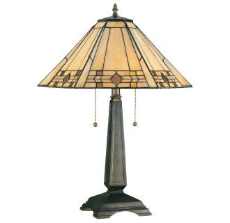 View the Kenroy Home 33040 Willow 2 Light Stained Glass Table Lamps at LightingDirect.com.