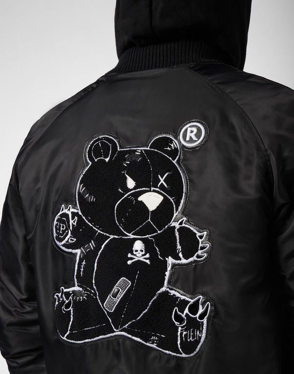 7ee685c99a7 Nylon Jacket Teddy Bear | Phillip Plein MEN | Jackets, Bear och ...