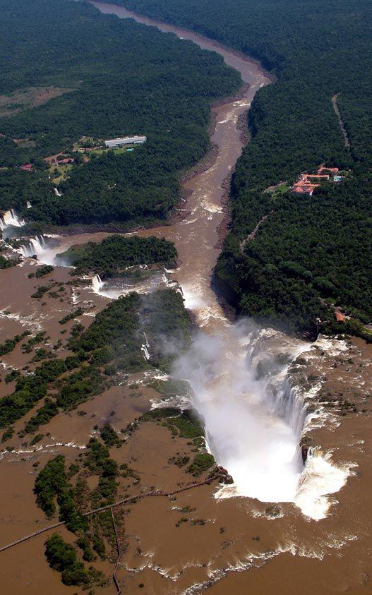 Garganta del Diablo - Cataratas del Iguazú - Argentina #cataratasarg…