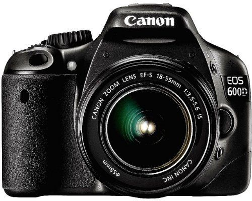 Canon EOS 600D (European EOS Rebel T3i) 18 MP CMOS Digital SLR Camera and DIGIC 4 Imaging with EF-S 18-55mm f/3.5-5.6 IS Lens by Canon. Save 47 Off!. $789.00. 18 MP APS-C CMOS sensor An APS-C sized, 18-megapixel CMOS sensor captures images that are packed with detail and clarity. Such high-resolution allows large print sizes and the flexibility to crop pictures for alternative compositions.  ISO 100-6400 sensitivity An ISO range of 100-6400, extendable to ISO 12,800, enables high-quality…