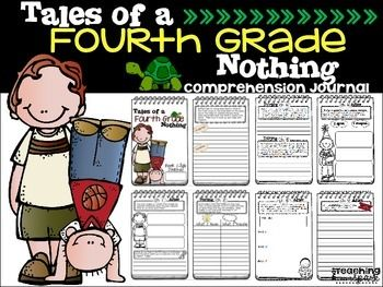 Are you reading Tales of a Fourth Grade Nothing with your class or have students reading it in a book club?  If so, grab this thorough and engaging mini journal to assess essential comprehension skills!   This 18 page booklet contains questions that either must be answered Before, During, or After each chapter.